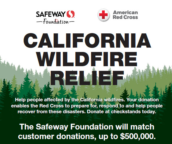 Image result for red cross california wildfire relief